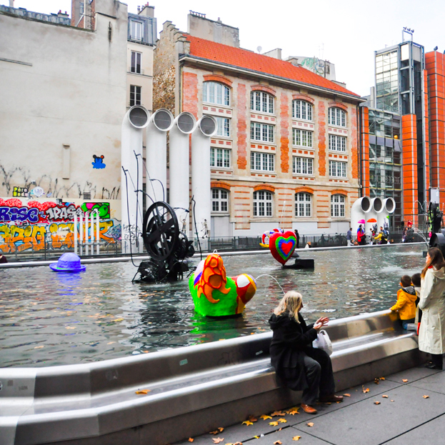 AROUND POMPIDOU