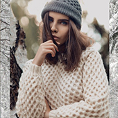 Winter oversize knitwear inspiration