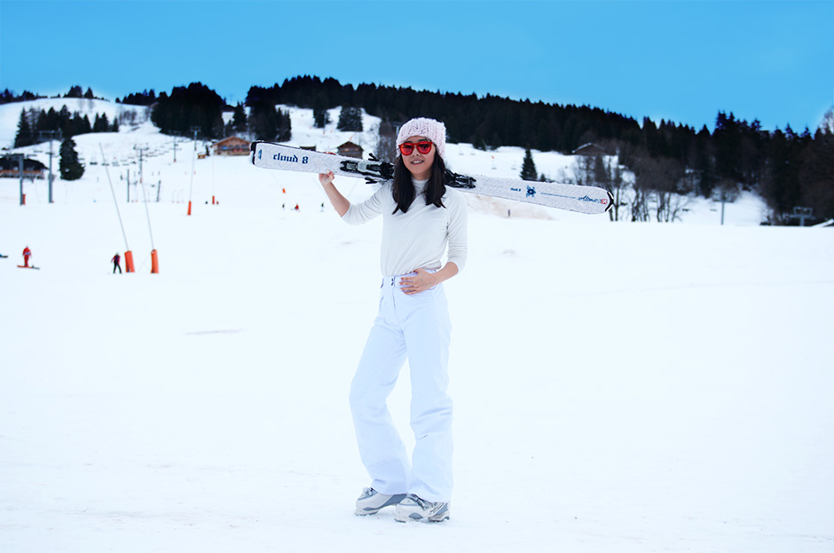 ski look style outfit