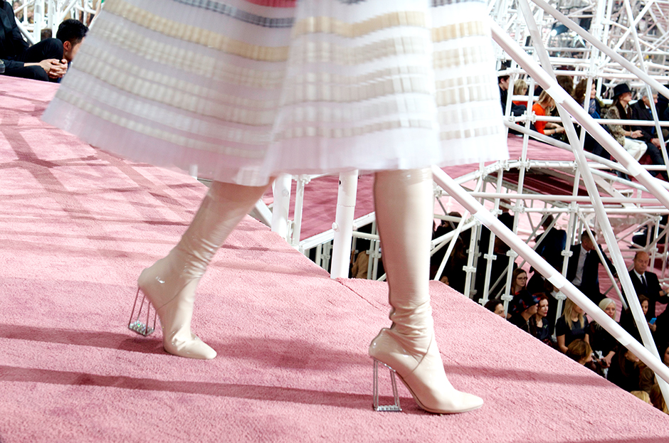 dior haute couture show 2015 dior shoes