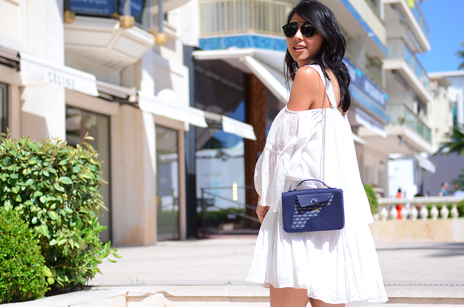 asos dress, faure le page bag 4